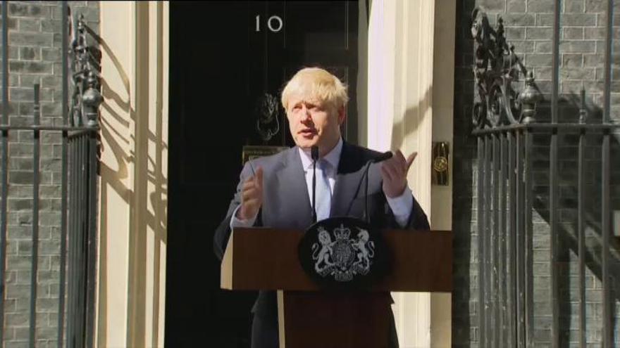 """Johnson:: """"Habrá Brexit sin peros ni condiciones"""""""