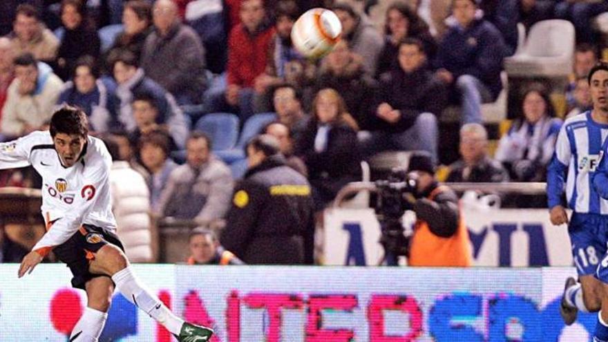 Molina todavía sueña con aquel golazo de Villa