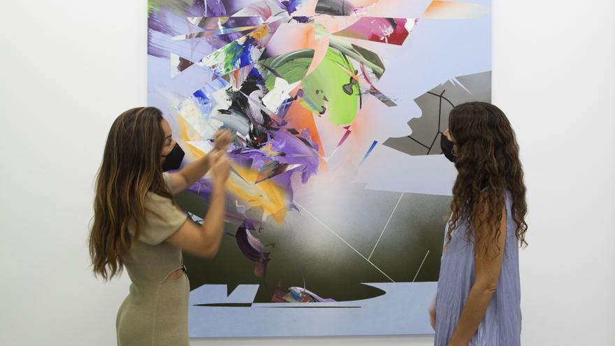 Explosión de color en Galería Cuatro