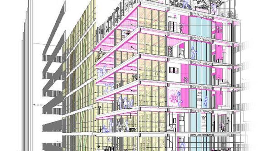 El primer edificio de alquiler asequible será bioclimático y tendrá 18 viviendas
