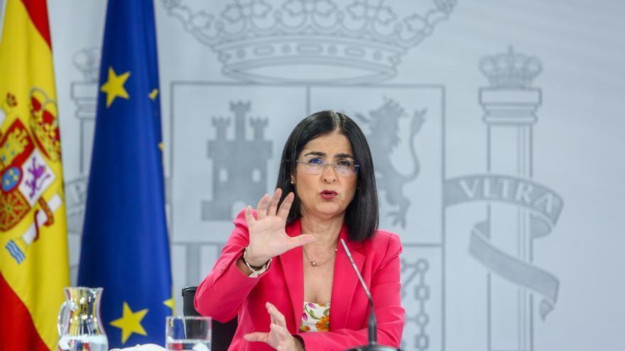 """Darias asegura que """"no está en la agenda del Gobierno"""" traspasar la competencia del MIR a Cataluña"""