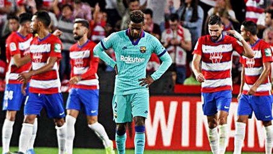 El Barça de Valverde decep amb una derrota que deixa com a líder el Granada