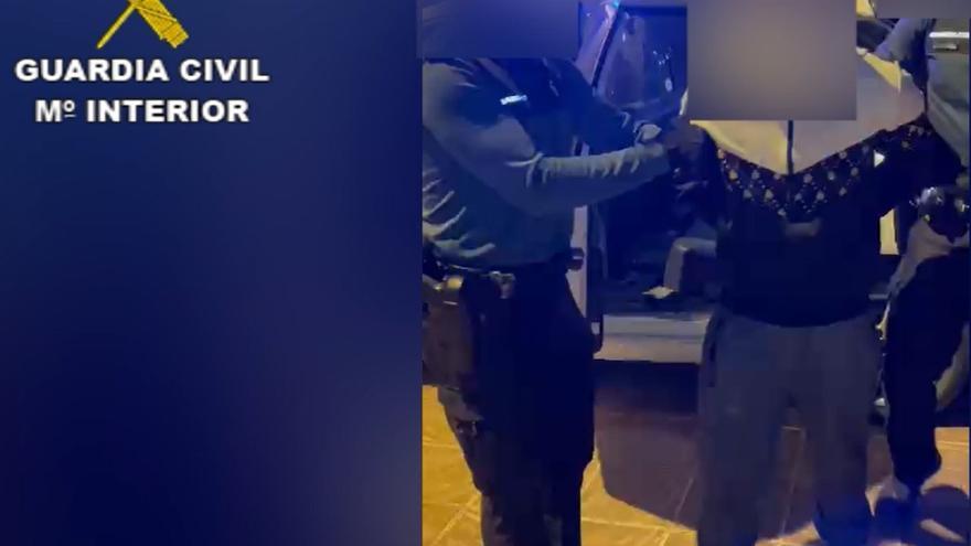 Detenido el ladrón 'Copito' tras escapar de la Guardia Civil trepando por tejados de Madrid