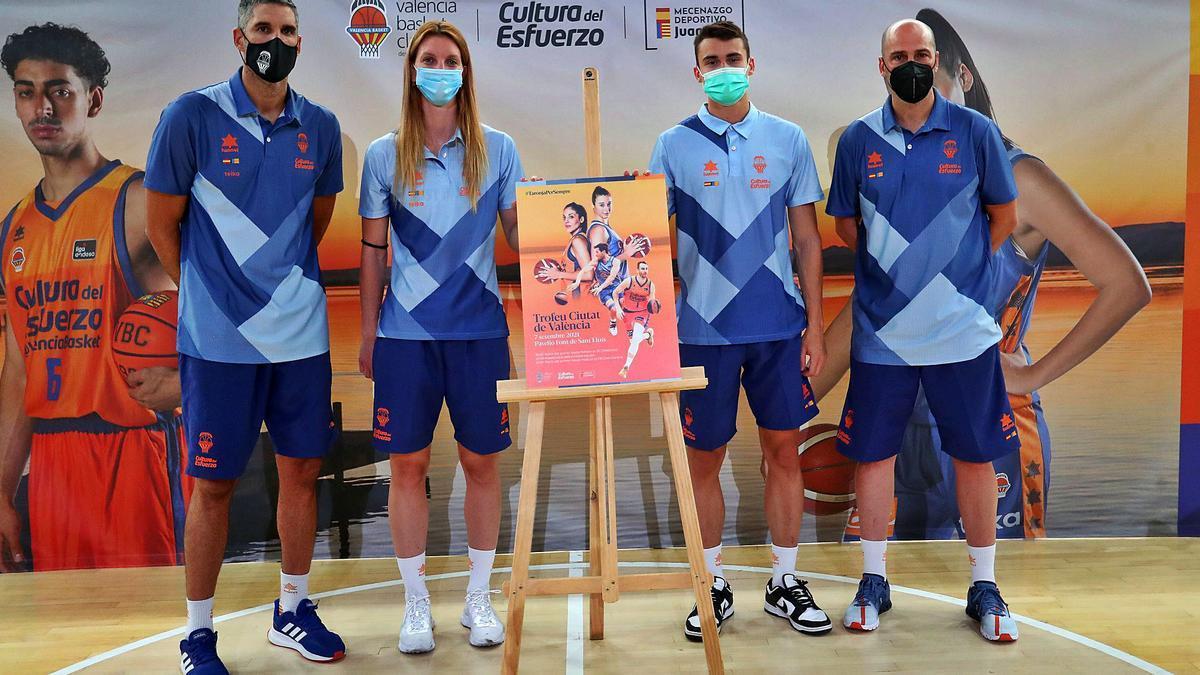 Presentación del  Trofeo Ciutat de  València.  francisco calabuig