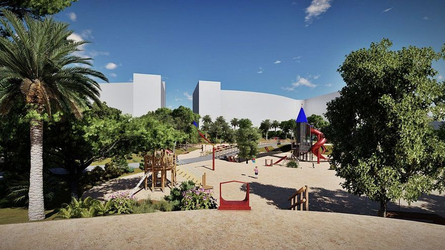El bipartito ultima los trámites para construir el primer gran parque del PAU 2 en Alicante