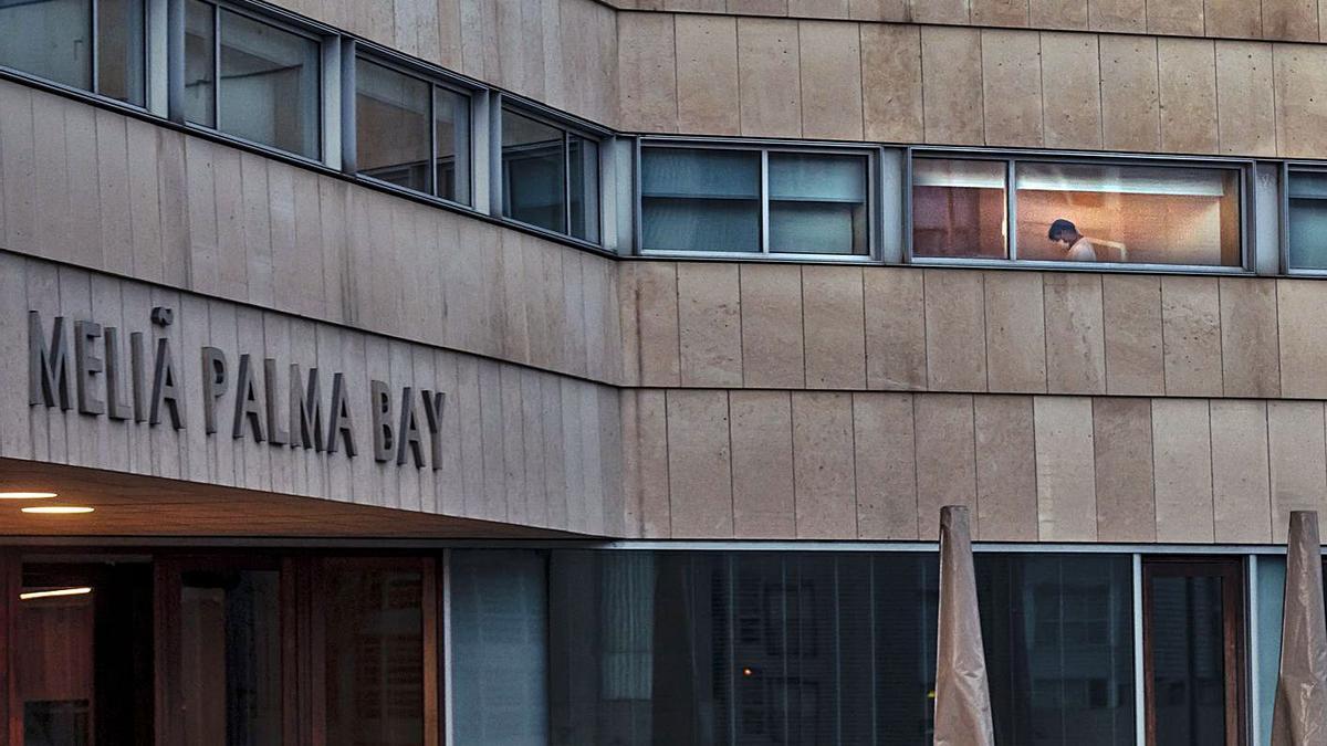 El hotel del Palau de Congressos ha sido establecimiento covid durante toda la pandemia. | B.RAMON