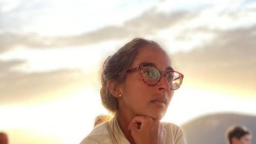 Haría llora la pérdida de la joven Pilar María Villalba Cabrera