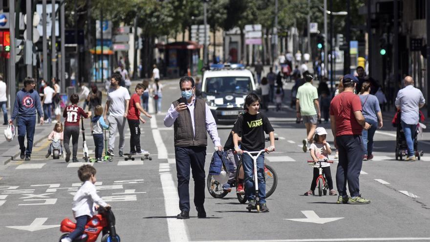 La Gran Vía de Murcia será peatonal los domingos a partir de octubre