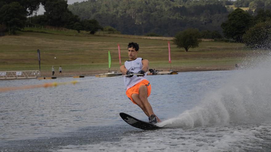 Protagonismo agoladés en la Copa Galicia de esquí náutico