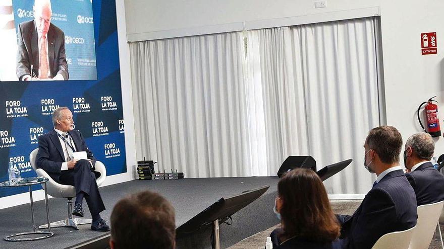 """Gurría ve en la cooperación internacional la """"única respuesta"""" a la crisis del Covid"""