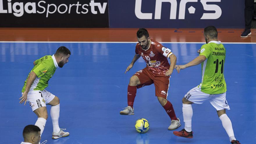 El Palma Futsal logra un valioso punto en la pista de ElPozo Murcia