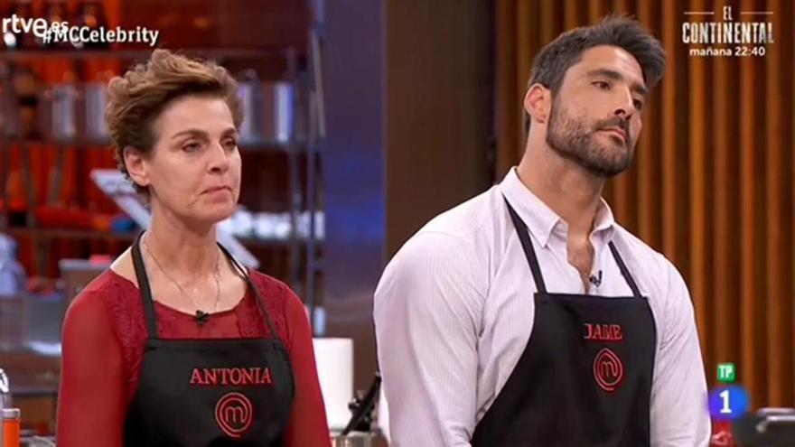 Antonia Dell'Atte y Jaime Nava, expulsados de 'Masterchef Celebrity'