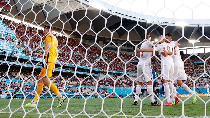 Eurocopa: España vs. Eslovaquia, resumen y goles del partido