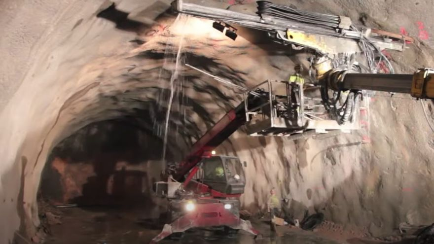 VIDEO | Así se hizo el túnel del AVE más importante de Zamora, Padornelo