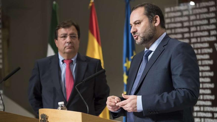 """El ministro Ábalos visitará Extremadura este jueves y viernes """"con una intensa agenda"""""""