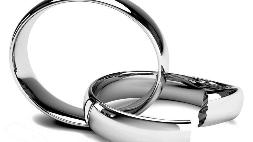 Cae un 8,6% el número de parejas que se divorcia en Galicia
