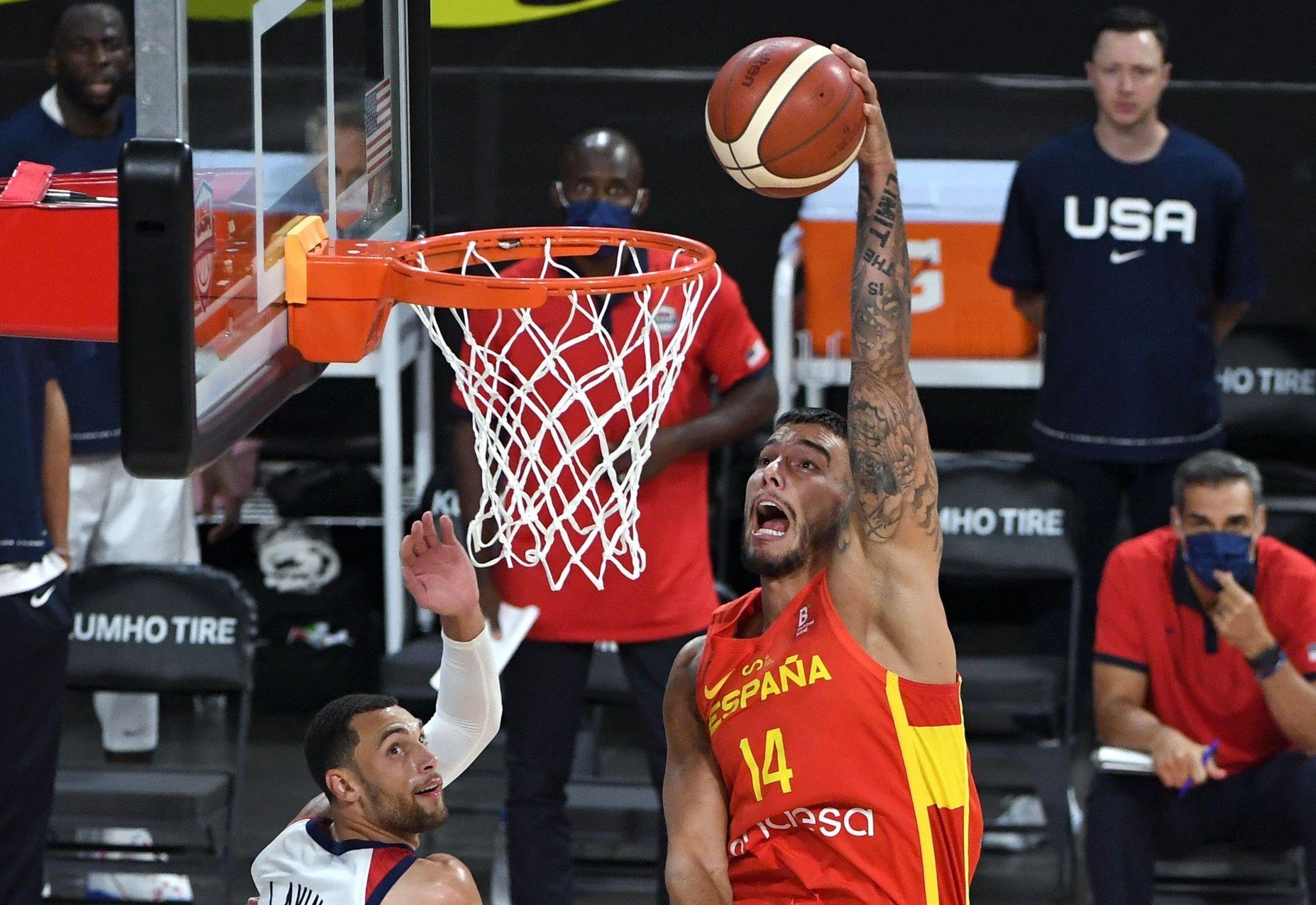 La selección española prepara los JJOO con un amistoso contra EEUU