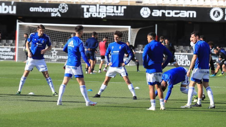 El FC Cartagena se reencuentra con el triunfo ante el Oviedo