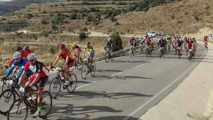 Suspendida la XXIV ruta cicloturista del Maestrazgo por un grave accidente
