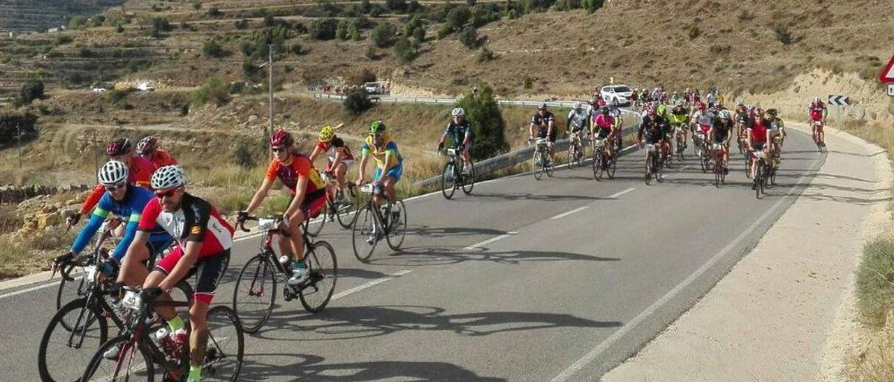 Suspendida la XXIV ruta cicloturista del Maestrat por un grave accidente