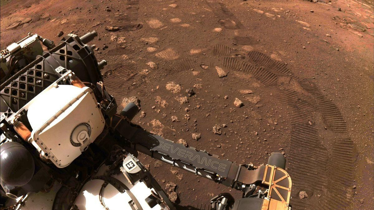 Així és el planeta Mart.