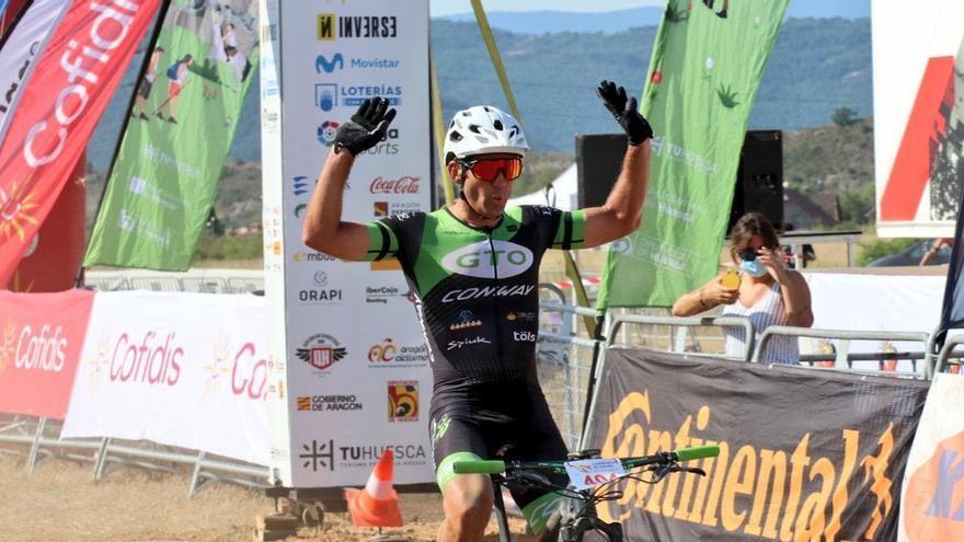 Juan Pedro Trujillo, campeón europeo y nacional de ciclismo MTB