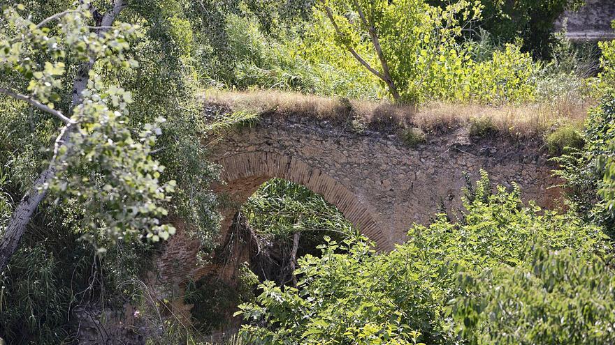 El puente del siglo XVIII de Moixent sigue en la lista roja de patrimonio