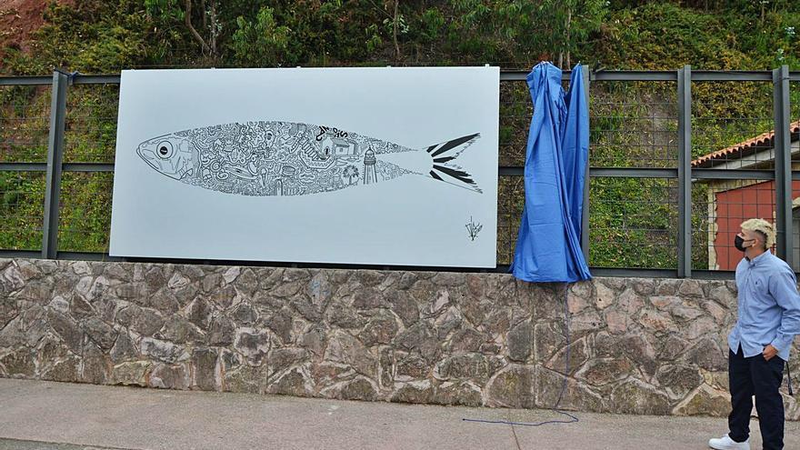 La sardina reina por San Félix