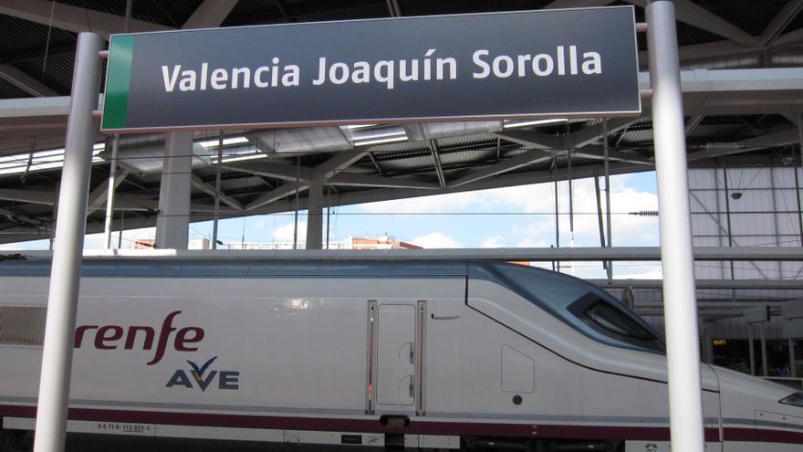 Renfe suspende regionales y AVE entre València, Alicante y Madrid