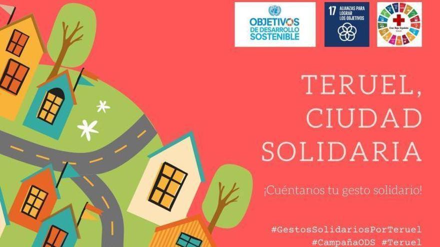 Cruz Roja en Teruel lanza la campaña 'Gestos solidarios' para visibilizar las acciones positivas