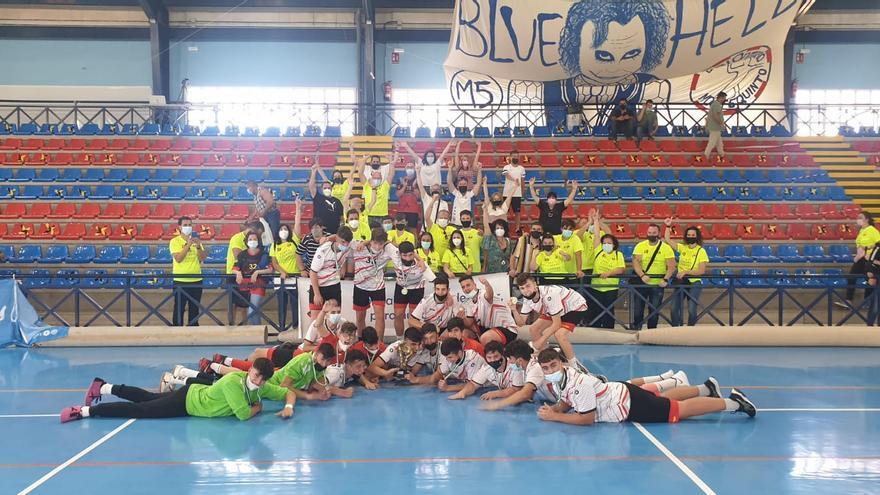 El Club Balonmano Málaga, campeón de Andalucía