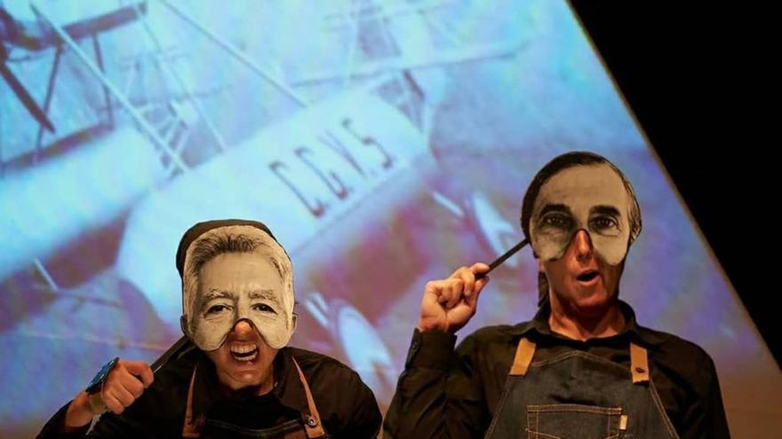Teatro infantil – 'Cometagiroavió.'