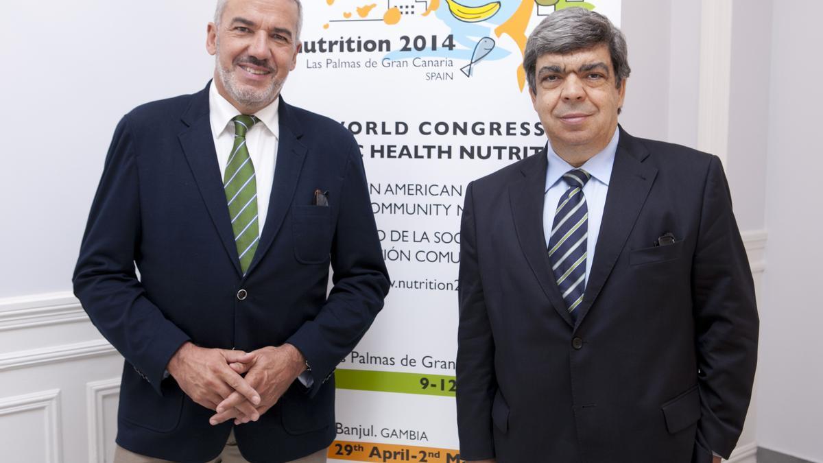 Professor Lluís Serra presents his candidacy for rector of the University of Las Palmas de Gran Canaria