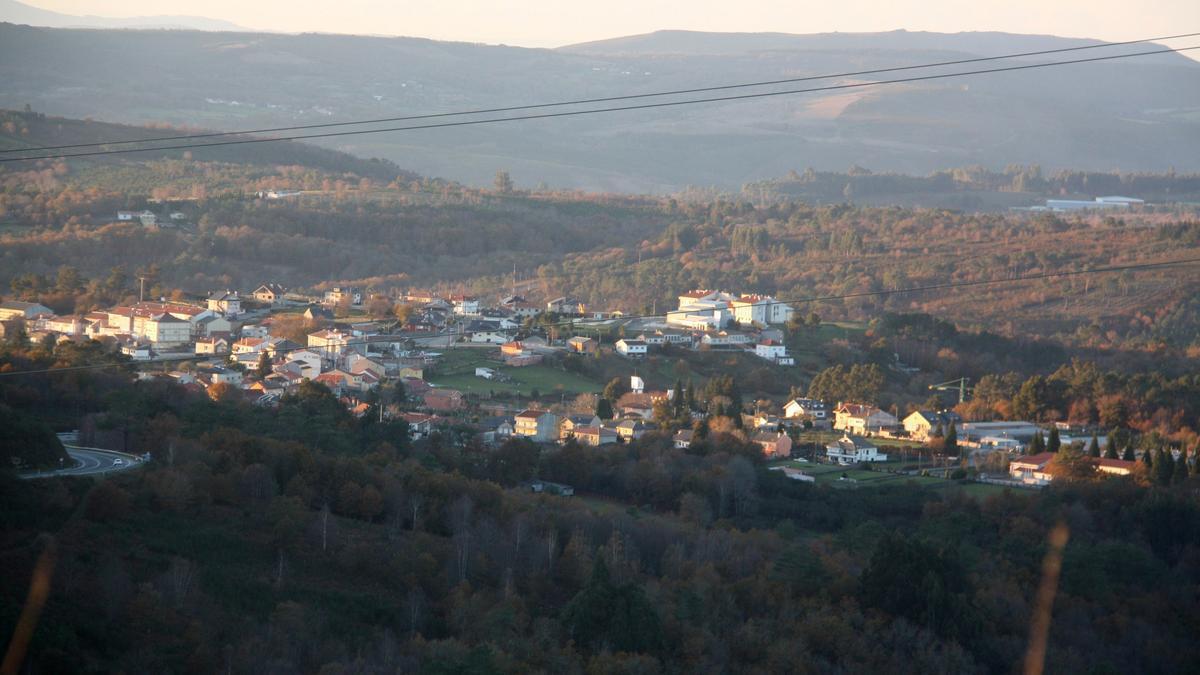 El fallecido fue encontrado en una parcela de su propiedad en A Madanela de Montes, cerca de Soutelo. / Bernabé/Cris M.V