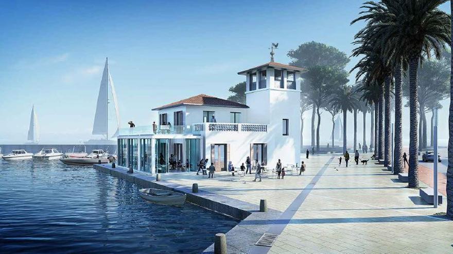 La rehabilitación el edificio del puerto del Molinar costará un millón de euros