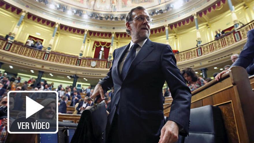 Rajoy será elegido presidente tras el desgarro del PSOE
