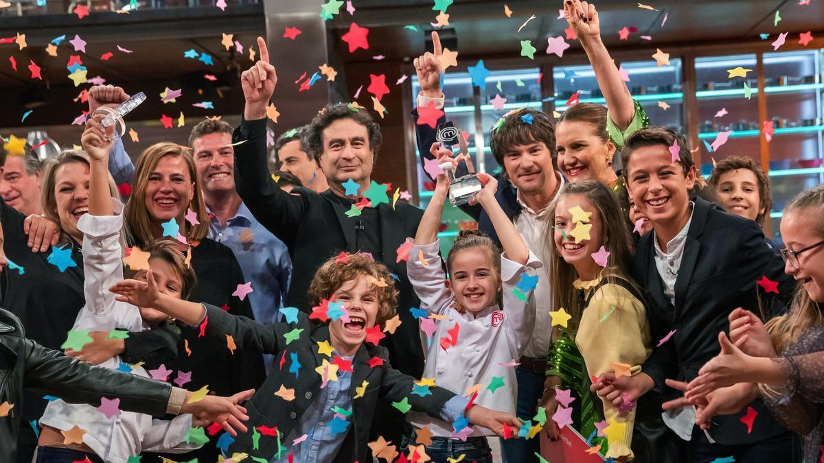 """La gaditana Aurora, ganadora de la octava edición de """"MasterChef Junior"""""""