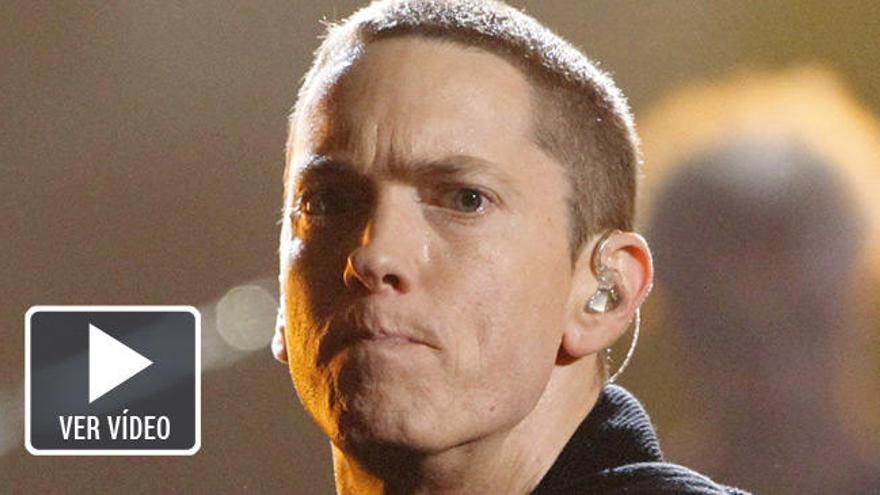 Eminem rapea contra Trump