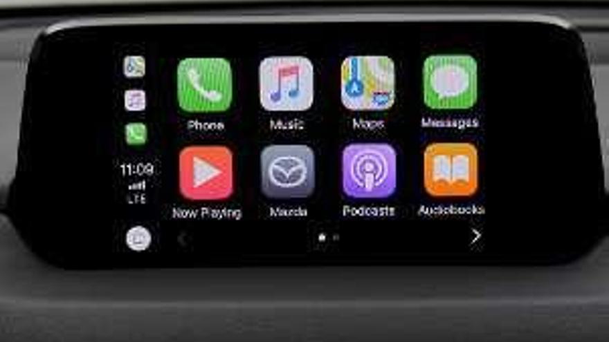 Integración de Android Auto y Apple Car Play