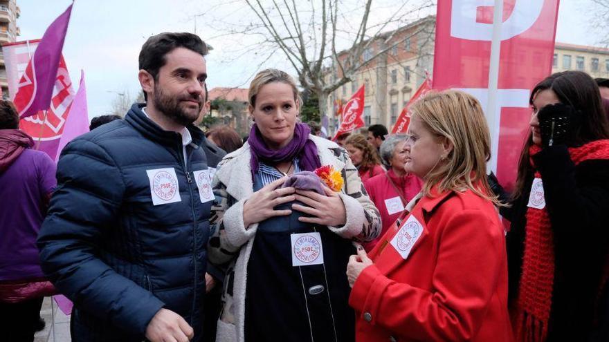 Más de 3.000 zamoranas protagonizan una histórica marcha por la igualdad