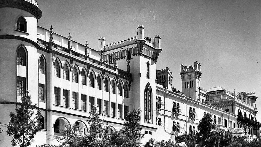 Primeros colegios privados masculinos en Santa Cruz