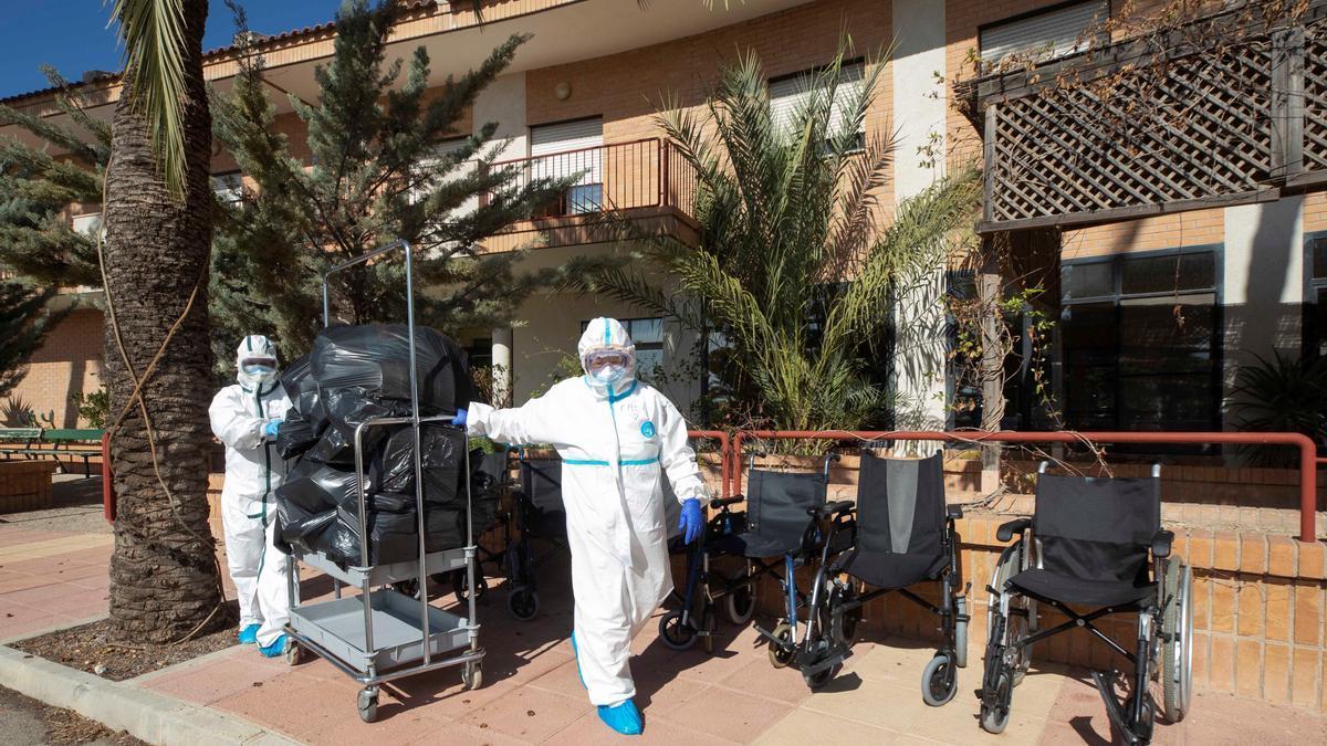 El coronavirus deja un fallecido en el último día en las residencias valencianas