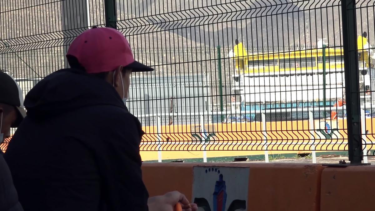 Un inmigrante intenta embarcar hacia Huelva en Santa Cruz de Tenerife