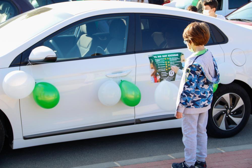 """Una marcha teñida de verde y blanco para defender """"el bien común"""""""