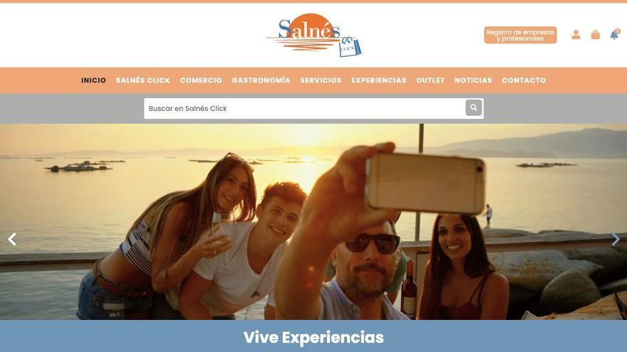 Llega Salnés Click, el Centro Comercial virtual más grande de Galicia