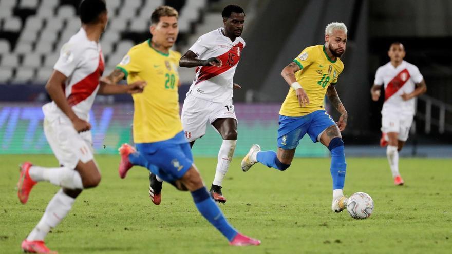Brasil golea a Perú al ritmo de Neymar y encauza su pase a cuartos