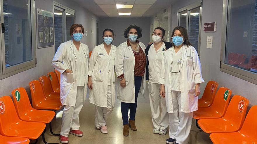 El equipo de Enfermería del Área Sanitaria II, elegido como pregonero de las Fiestas del Carmen y La Magdalena de Cangas del Narcea