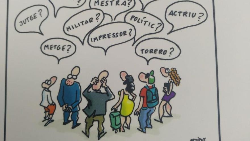 Ortifus y Luis Fernández presentan su libro 'Carrers Il.lustrats'