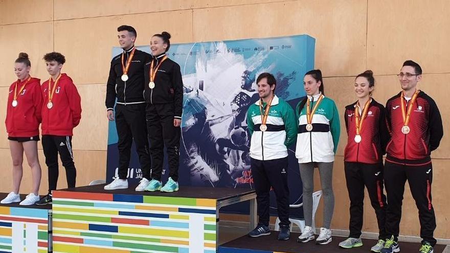 La UCO logra un bronce en taekwondo en los campeonatos nacionales