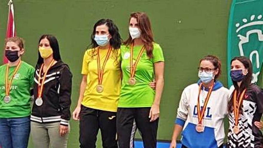 Las enguerinas Inma Aparicio y Sandra Chirlaque, campeonas de España